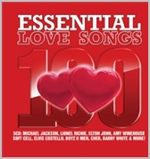 100 Essential love songs - Various (5CD)
